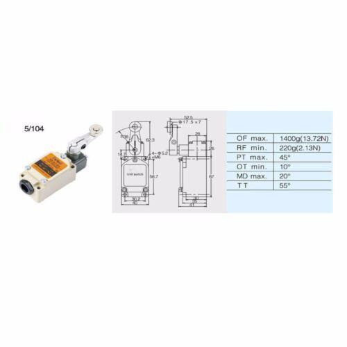 Limit Switch Door Spring Type For Coldroom Freezer Room doors 5106