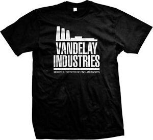Details about Vandelay Industries Importers Exporters Fine Latex Goods  Funny TV Men's T-shirt