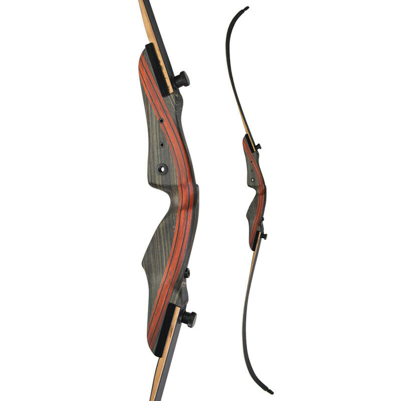 """OMP 62/"""" Mountaineer 2.0 Take-Down Recurve 40# Right Hand"""