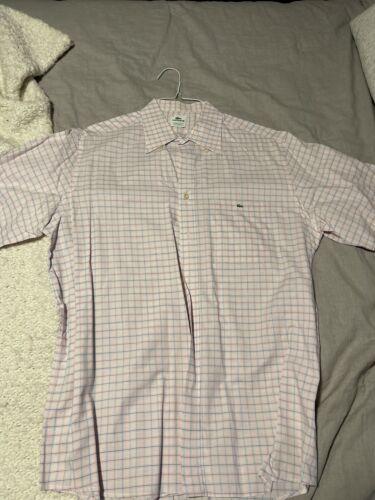 Lacoste Mens Button Down Shirt