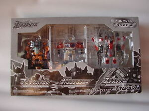 Transformers-Takara-Galaxy-Force-EZ-Collection-Clear-Set-CHUG-Legend-Prime-RID