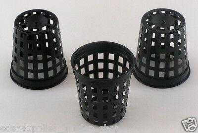 Hydroponic net pots round plastic net pot 4.6cm 100, 300 or 1000 plant pots new