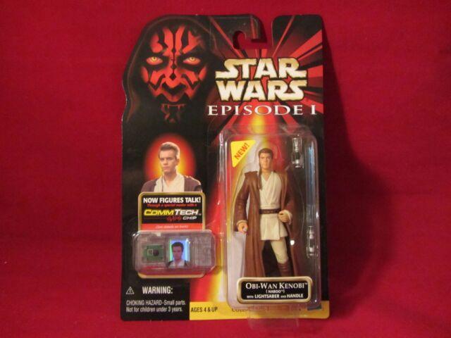 Episode 1 Hasbro Star Wars Obi-Wan Kenobi Naboo Action Figure for sale online