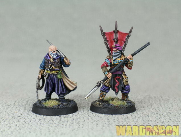 25mm ForgeWorld WDS painted Lord  Of Rings Râza e Delgamar i74  colorways incredibili