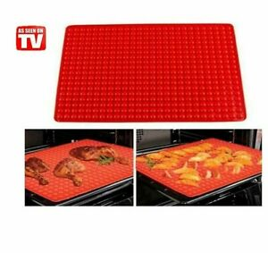 1 Pack Silicone Baking Mat Bakeware Oven Non Stick Cookie Tray Heat Resistant