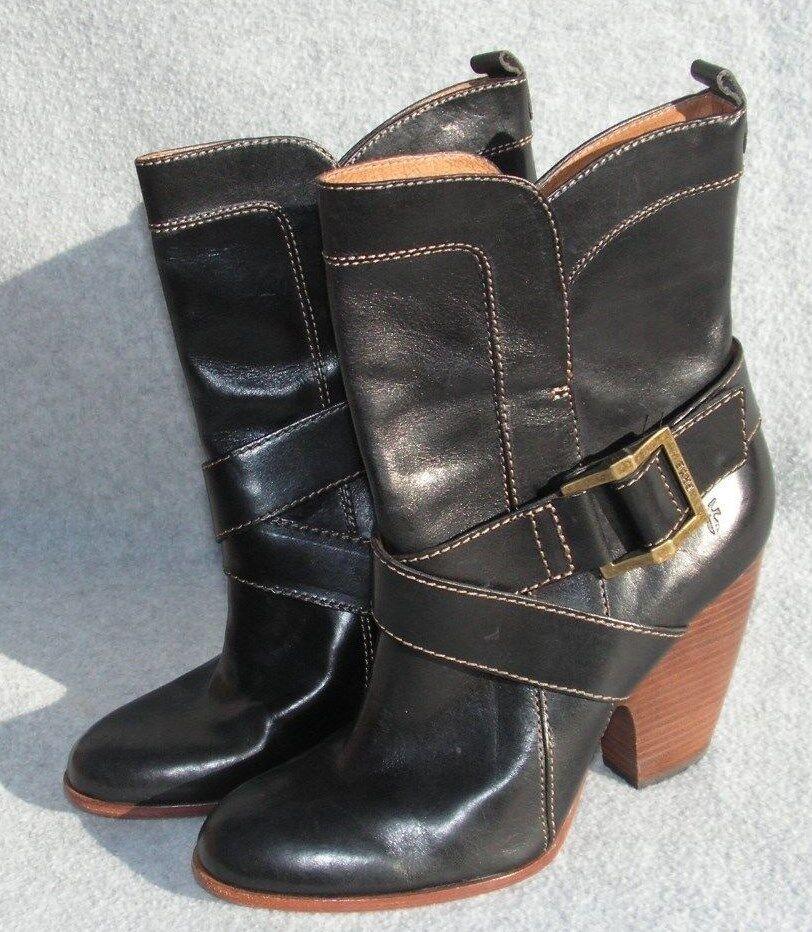 Frye Andrea Mid Western Western Western Tobillo botas 8.5 B precio minorista sugerido por el fabricante  348  precios al por mayor