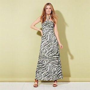 1f2ae0f3e0b AVON Urban Safari Reversible Maxi Dress Size 16-18 New Holidays ...