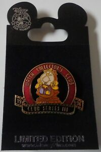 Disney-Pin-Reloj-Club-Coleccionistas-1994-Serie-III-Cogsworth-Le