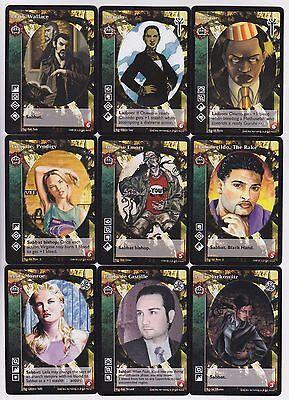 Ravnos Small//Mid Cap Crypt Lot G4 9x Vampires LotN//LoB//KMW//Gehenna V:TES VTES