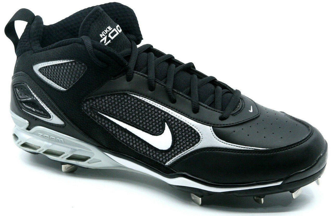 Nike Air Zoom 5-Tool Pro Black/White Baseball Cleats - Comfortable Seasonal clearance sale