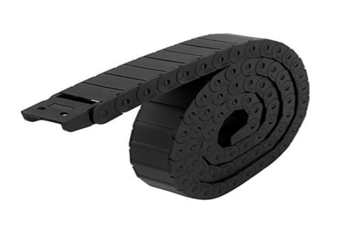 Black Long Nylon Cable Drag Chain Wire Carrier 15mm x 30mm CNC 3D printer