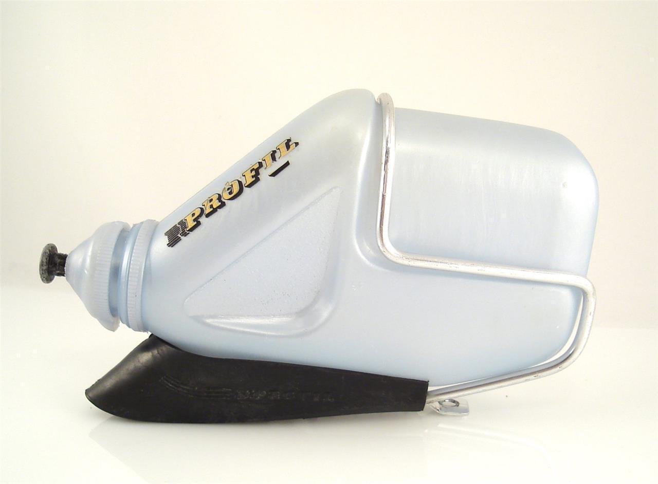 Vintage Drinking Bottle + Cage PROFIL Aero Road Bikes 1980s Chesini (LA)