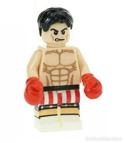 Imitation Lego Sylvester Stallone Rocky Compatible Minifigures NEW