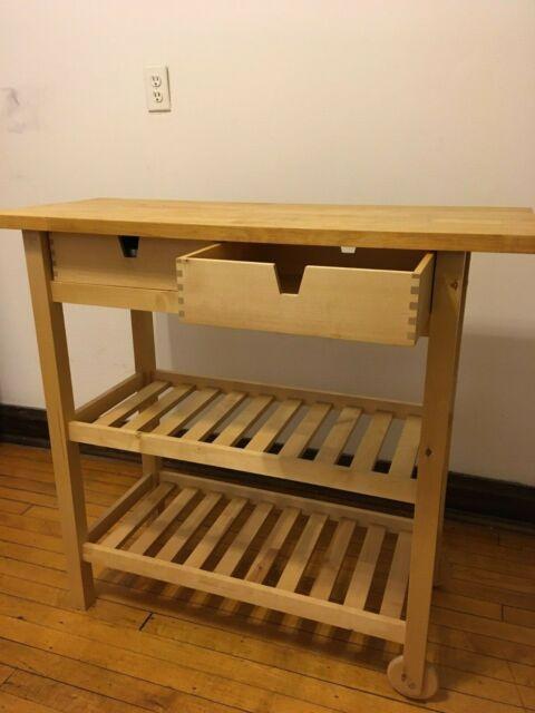 Ikea Vadholma Kitchen Island For Sale Online Ebay