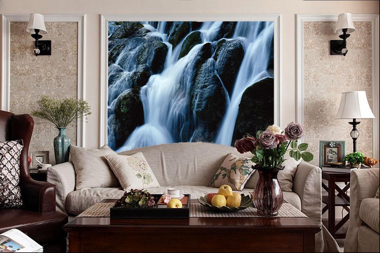 3D Water hill stone 2734 Paper Wall Print Decal Wall Wall Murals AJ WALLPAPER GB