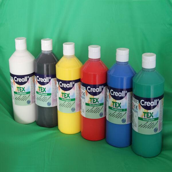 6 x 500ml Stoffmalfarben SET  Textilfarben Stofffarben Textilmalfarben Farben