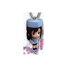 Hanasaku Iroha Minko w/ Hat Mascot Key Chain Licensed Anime NEW