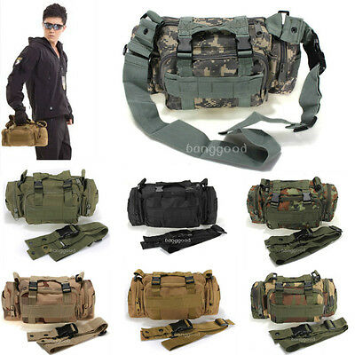 Utility Tactical Waist Pack Pouch Military Camping Hiking Bag Outdoor Bag New