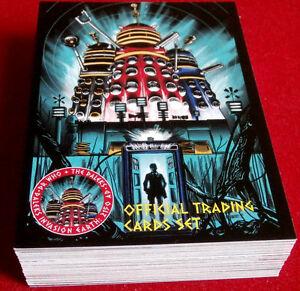 DR-WHO-amp-THE-DALEKS-COMPLETE-BASE-SET-54-cards-Unstoppable-2014