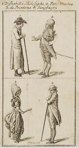 Chodowiecki (1726-1801). vestiti DI BERLINO Moda, habillemens berlinois 3