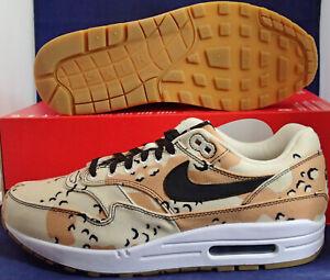 Nike-Air-Max-1-Premium-Desert-Camo-Beach-Black-Praline-SZ-8-5-875844-204