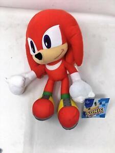 Sonic-the-Hedgehog-Knuckles-13-034-Plush-Stuffed-SEGA-Little-Boys-Children-Kids-Toy