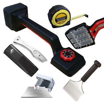 5 Item Carpet fitter flooring tool kit