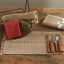 Park-Designs-TWEED-SPICE-Cotton-Placemat-Wine-Green-Gold-Brown-Ivory thumbnail 1