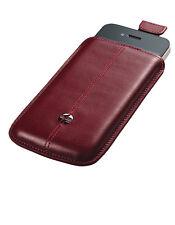 Etui Trexta Nifty pour iPhone 4S 4 en cuir bordeaux véritable