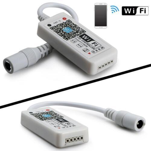 DC5-28V Mini WIFI LED RGBW Wireless Controller for 5050 3528 Led Strip Light BT