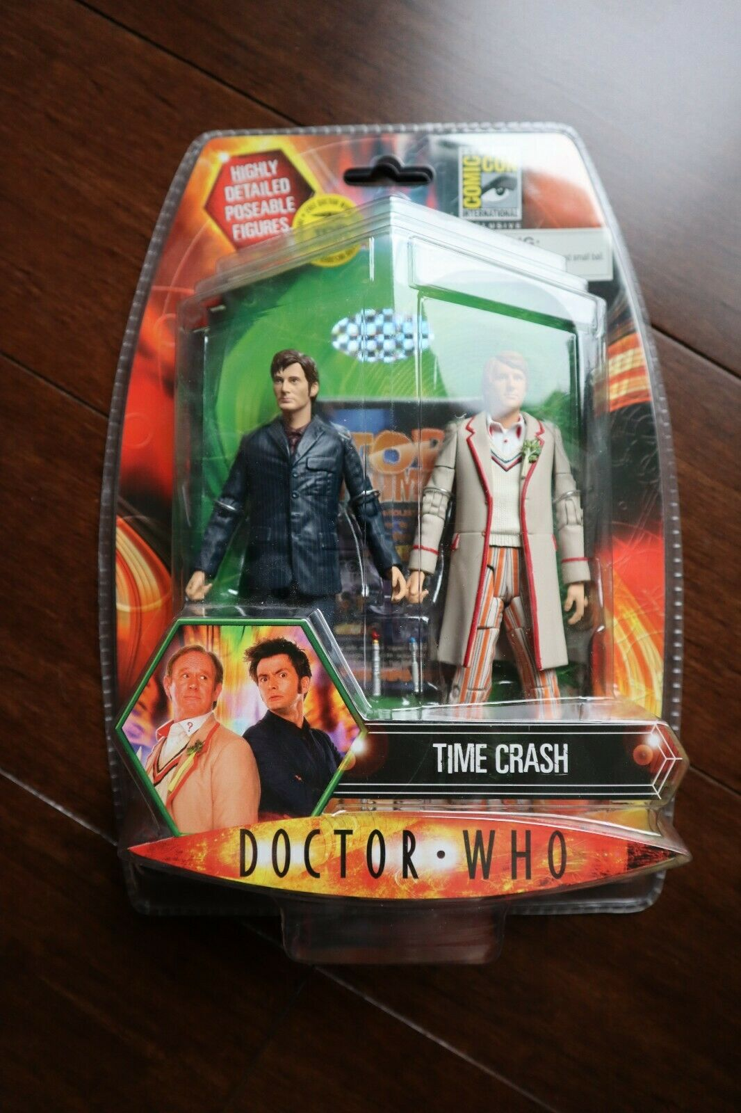 Time Crash Doctor Who figures - SDCC 2008