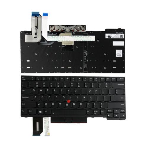 New Lenovo ThinkPad E480 L480 L380 Yoga T480s Keyboard US Backlit 01YP360 01YP52