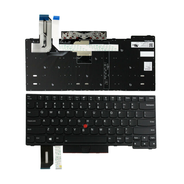new Keyboard for Lenovo ThinkPad E480 L480 T480S US Backlit 01YP360 01YP520