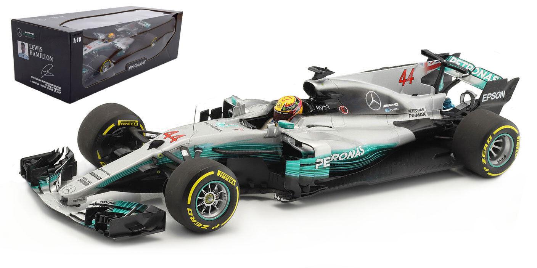 Passez Noël ensemble, achats de carnaval Minichamps Mercedes F1 F1 F1 W08 Spanish GP 2017-Lewis Hamilton 1/18 Scale 146621