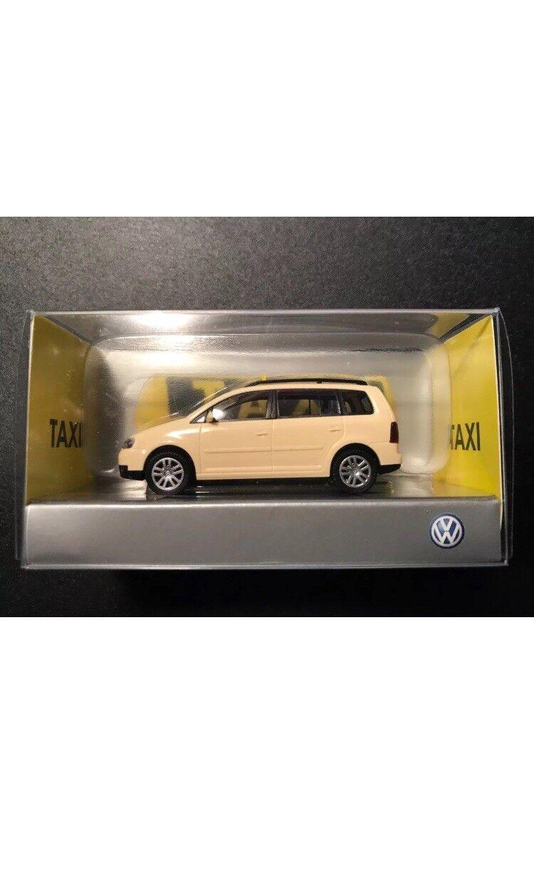 Sehr selten vw touran erhalten deutsche taxi - 2004  87 (dealer wiking - modell)