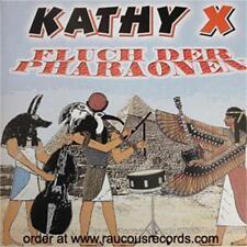 KATHY X Fluch Der Pharaonen VINYL SINGLE psychobilly Krewmen song ex-Mad Sin