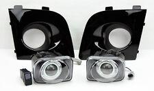 Black JDM Projector Halo Fog Lights w/ Covers FITS Subaru Impreza/WRX/Sti 06-07