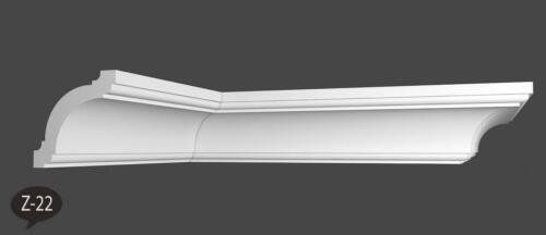 40 m+4 Ecken Zierleisten Styroporleisten Stuckprofile Zierprofile 60x60mm Z 22