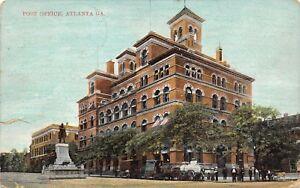 Atlanta-GA-Post-Office-Razed-1930-Grady-White-Supremacist-Monument-1910-DPO