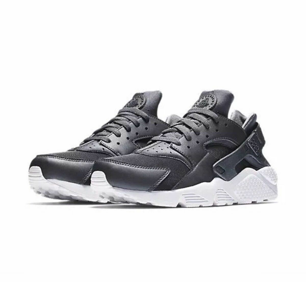 NIKE AIR HUARACHE RUN PREMIUM SHOES METALLIC HEMATITE 704830-009 SIZE 8.5