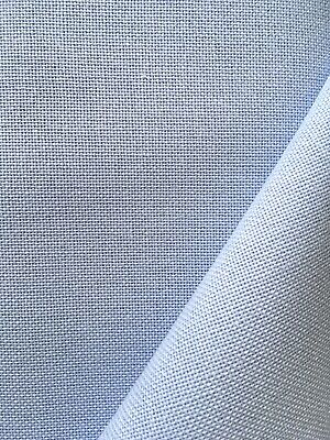 Pale Blue 32 Count Zweigart Murano even weave fabric various size options