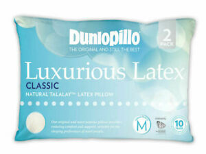 Dunlopillo-2-Pack-Luxurious-Latex-Classic-Medium-Profile-amp-Feel-Pillow