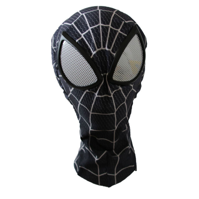 Man Spider-man Venom Mask with Lenses Adult Halloween Party Accessory