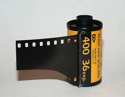 5 x Kodak Vision Vision3 500T 5219 Color Negative Film lomography