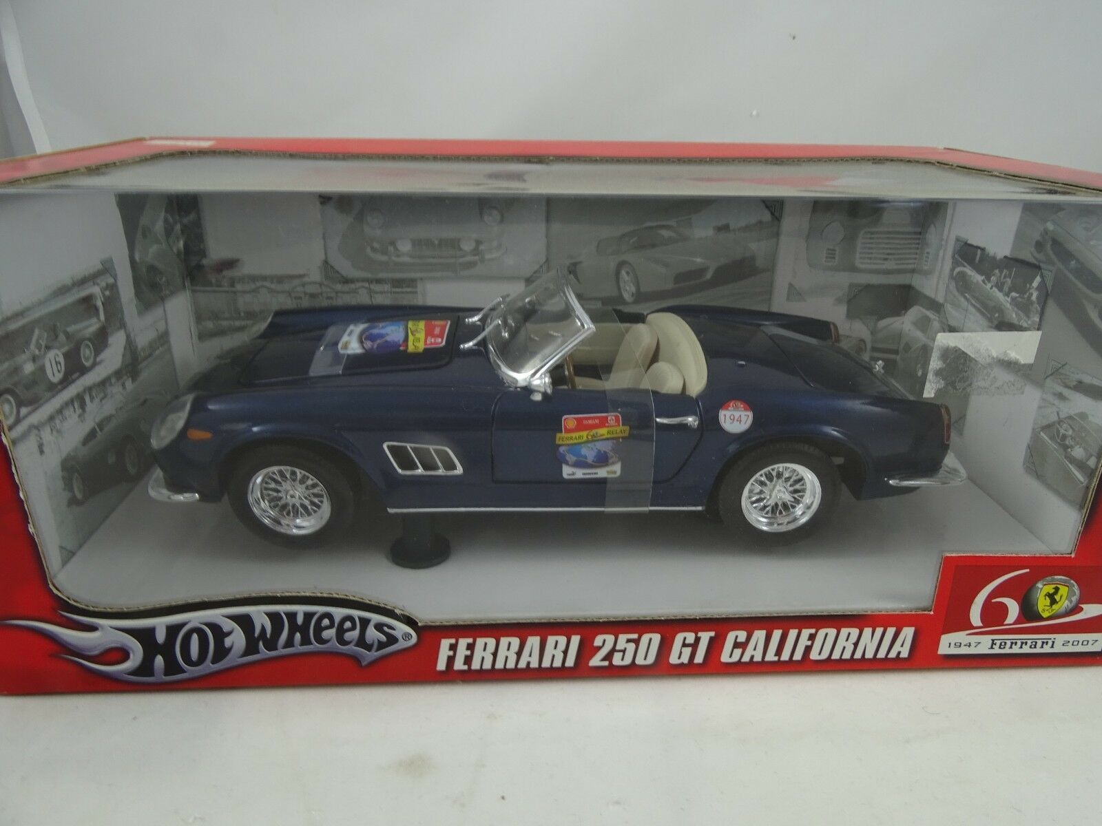 1 18 Hot Wheels  L2949 Ferrari 250 Gt California Amor - Rareza§