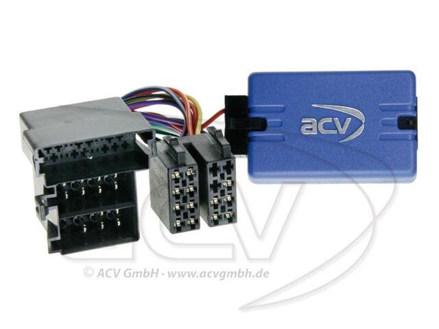 Adapter Lenkradfernbedienung Audi A3 8L/A4 B5, B6/A6 4B/A8 D3/TT 8N für Kenwood