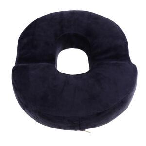 Cuscino Ciambella Per Coccige.Dettagli Su Cuscino Ciambella Cuscino Cuscino Memory Foam Ortopedico Coccige Antalgico