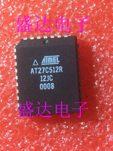 5 x AT27C512R-12JC AT27C512R 512K 64K x 8 OTP CMOS EPROM PLCC32