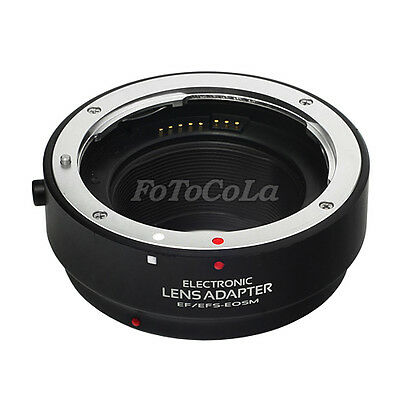 Electronic auto focus AF adapter for EF EFS lens to Canon EOS M M2 M3 EF-EOS M