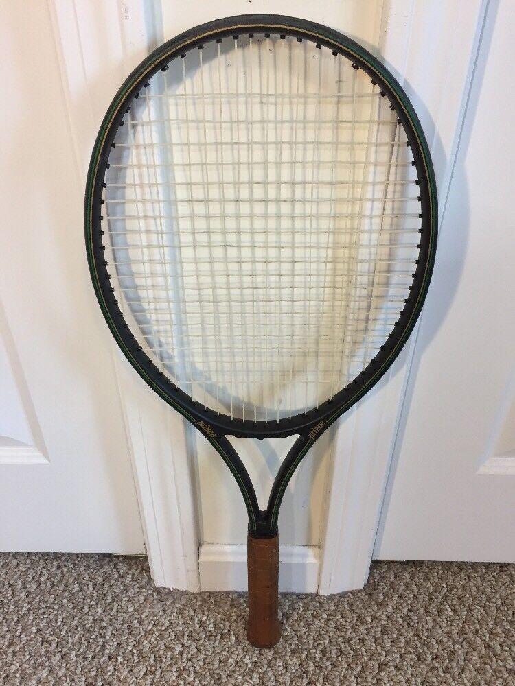 Prince Graphite Comp Series 110 Raquette de tennis OverTaille Cuir Grip 4 1 2 MINTY